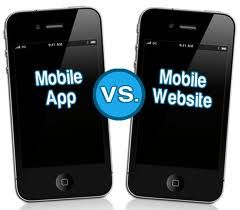 Mobile App vs Mobile Websites