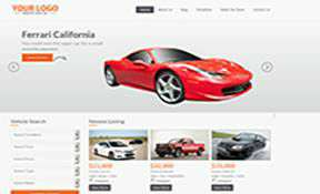 Auto Dealer website demo