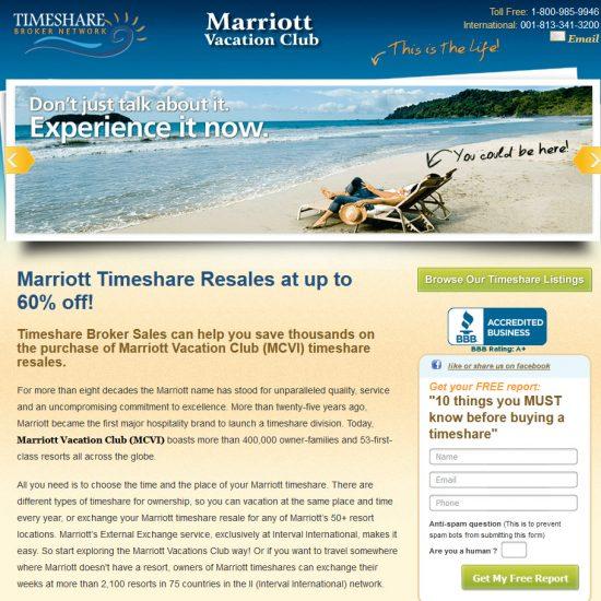 Marriott Timeshares