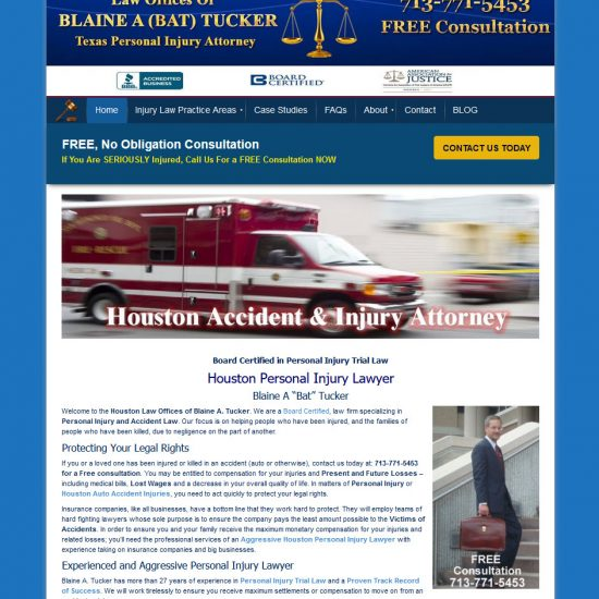 Law Offices of Blaine A Tucker